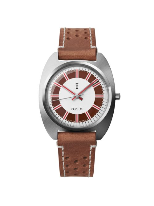 Steel Brown - ORLO Danish Designer Watches