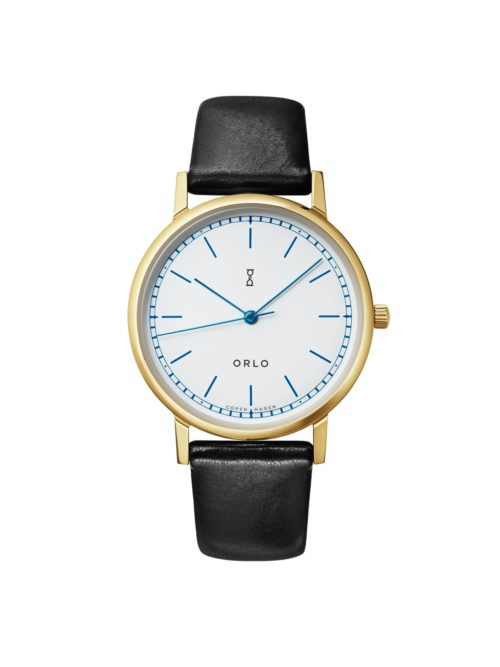 Gold White - ORLO Danish Designer Watches