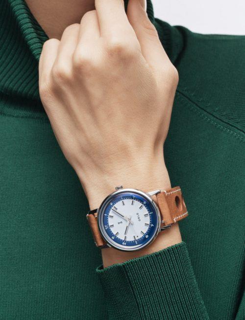 Steel Blue - ORLO Danish Designer Watches