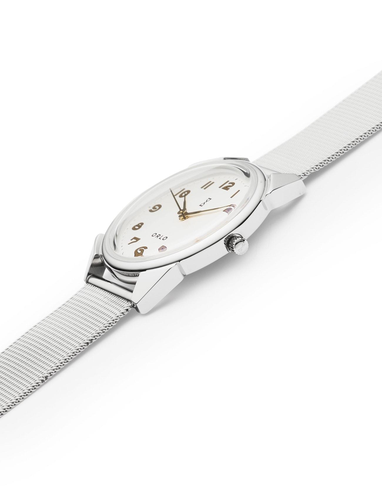 Steel White - ORLO Danish Designer Watches