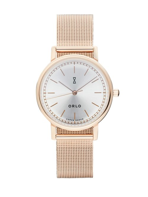 Rose Silver Petite - Womens Watches - ORLO Danish Designer Watches