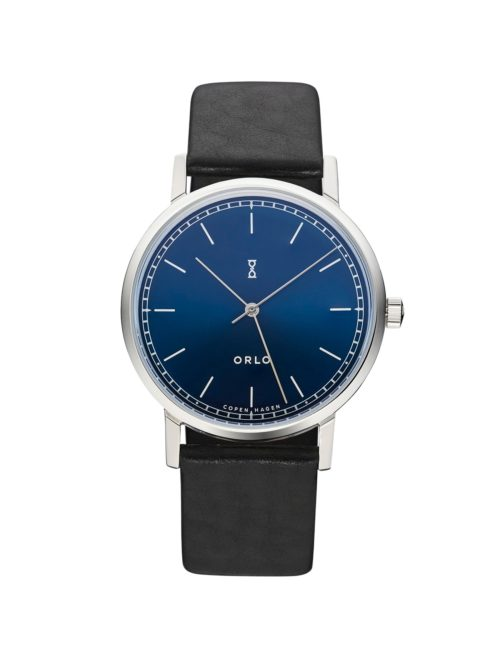 Steel Midnight Blue - Mens Watches - ORLO Danish Designer Watches