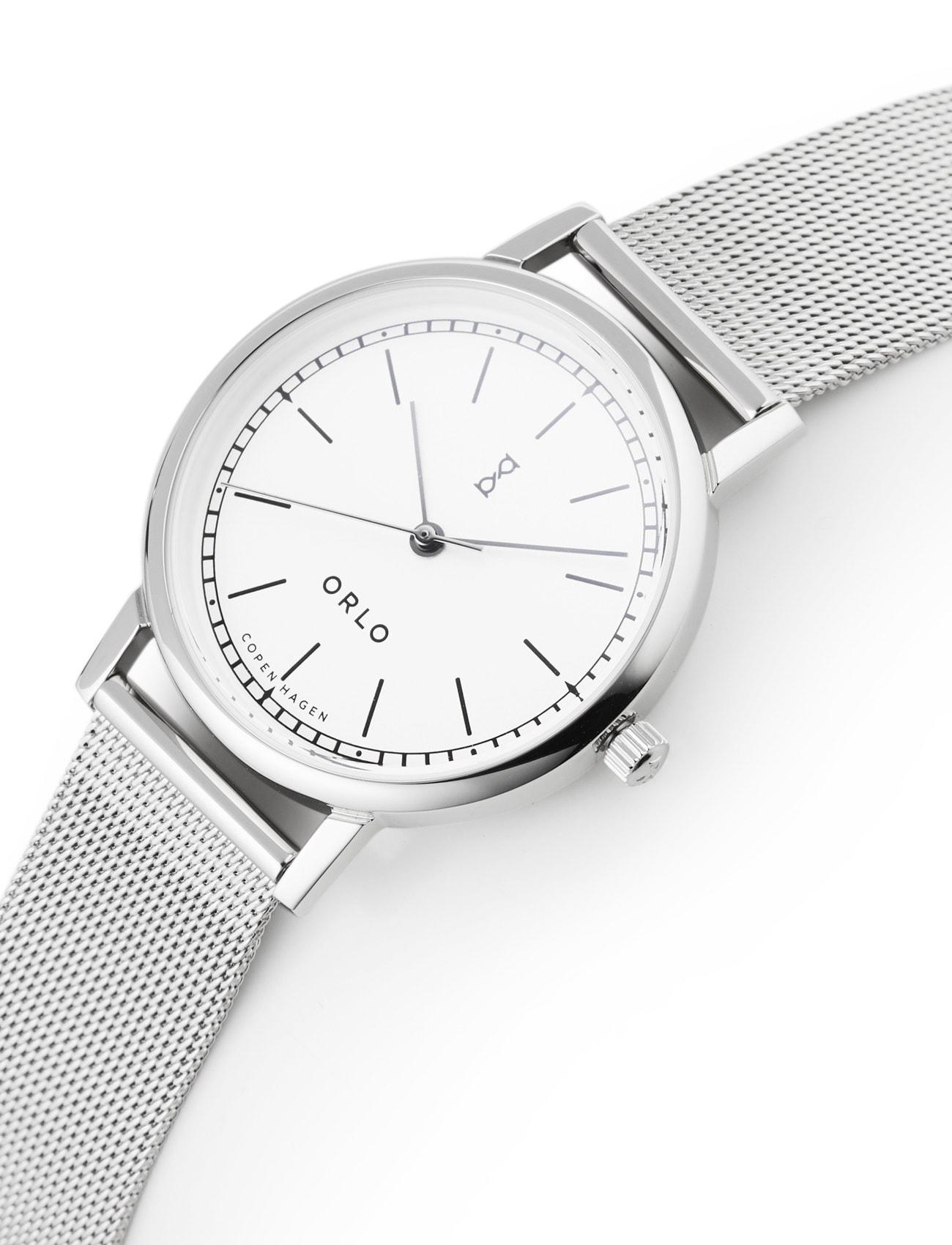 Steel White Petite - Womens Watches - ORLO Danish Designer Watches