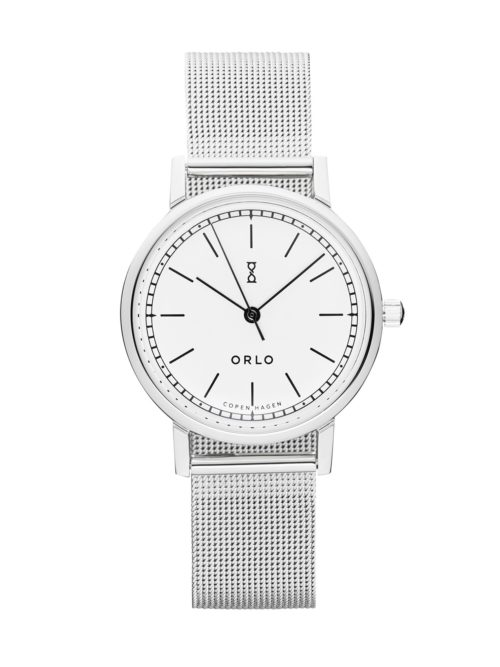 Steel White Petite - Womens Watches - ORLO Danish Designer Watches